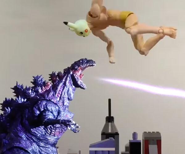 Pexachu vs. Godzilla
