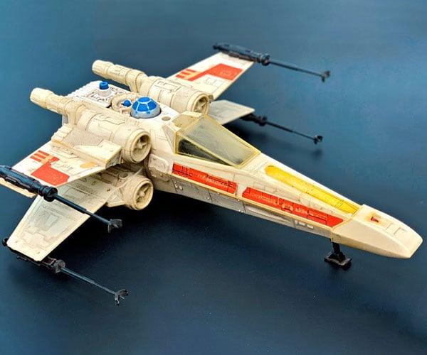 Restoring Luke's X-Wing Fighter