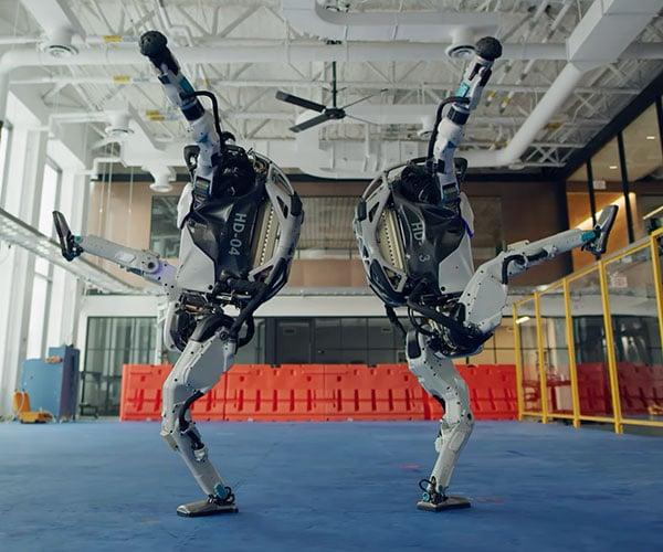 Boston Dynamics Robot Dance