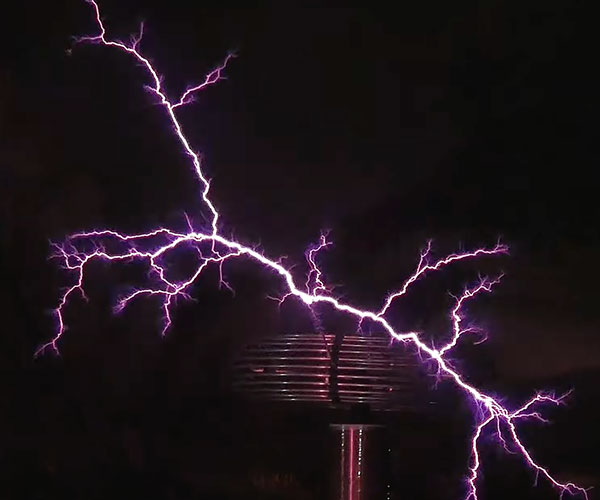 Seven Nation Army on Tesla Coils