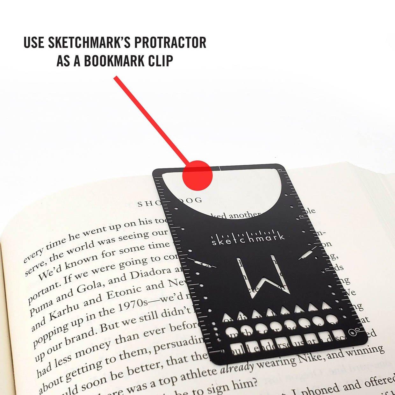 Sketchmark Stencil Bookmark