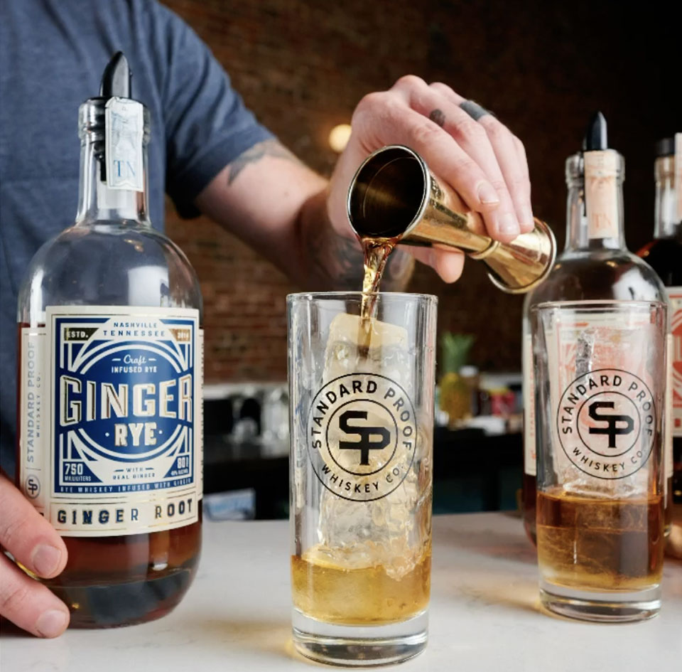Standard Proof Infused Rye Whiskeys