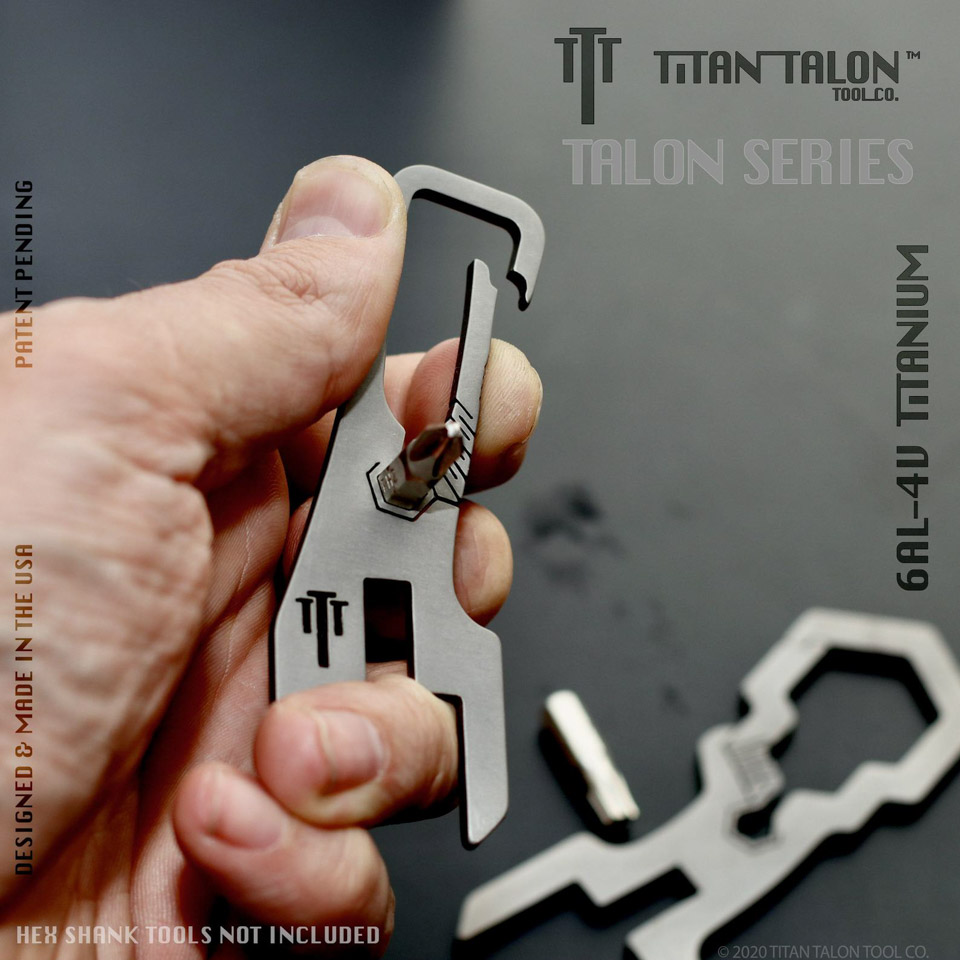 Talon Nutgrip Titanium Cheeseborough Wrench