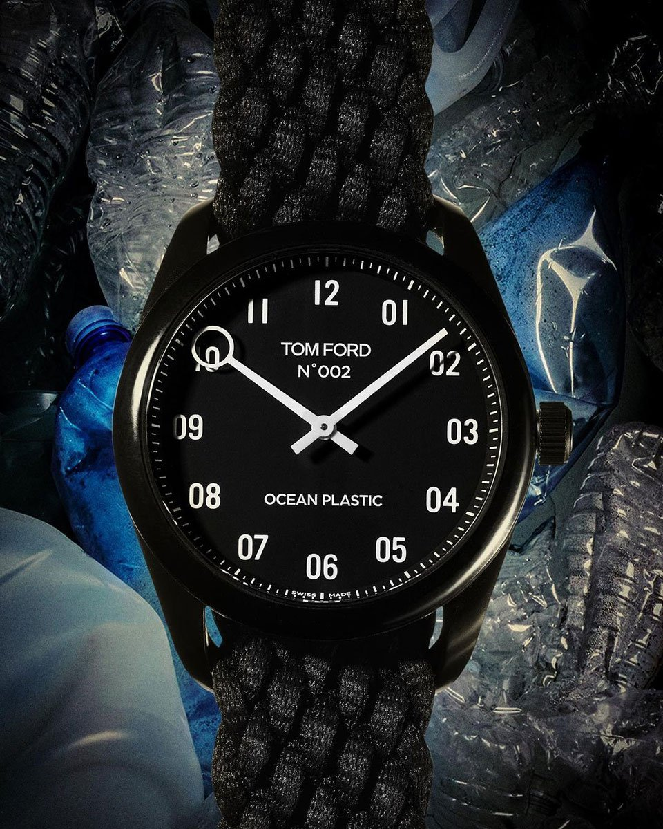 Tom Ford 002 Ocean Plastic Watch