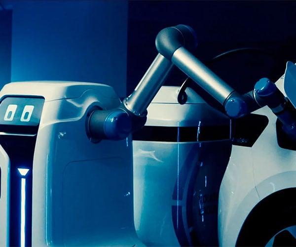 Volkswagen EV Charging Robot