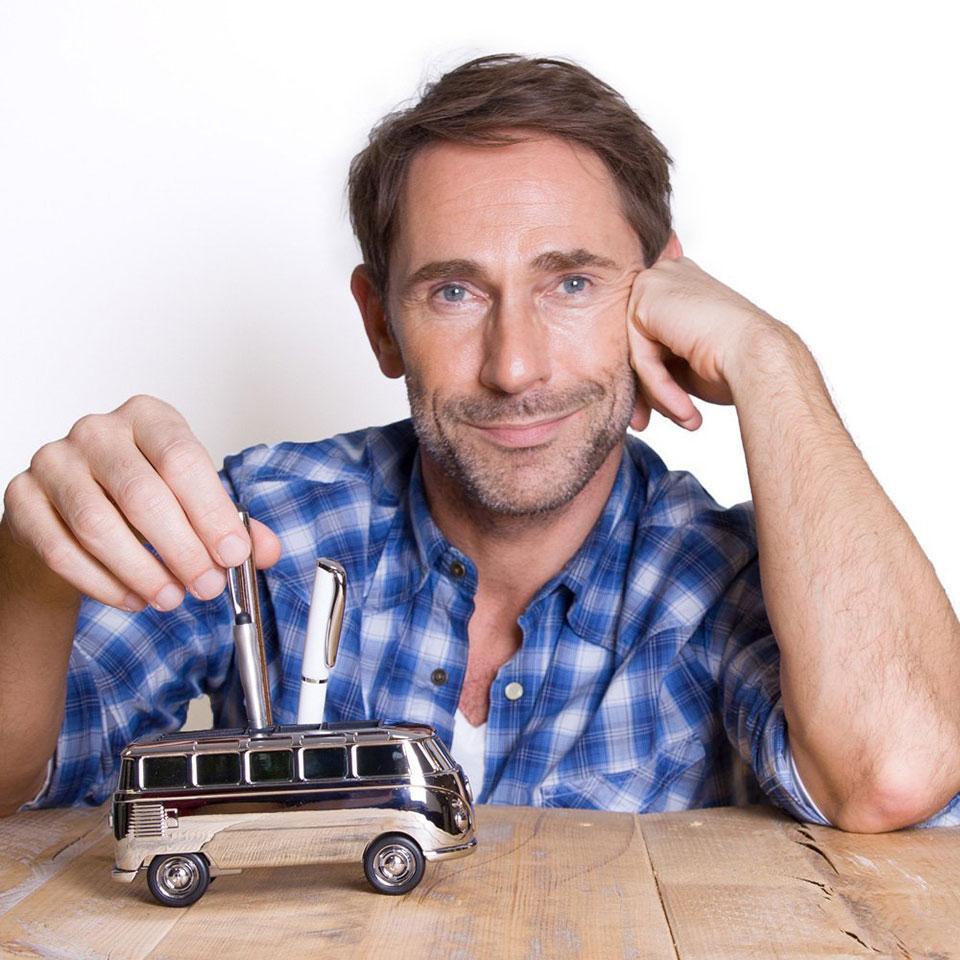 Volkswagen Bus Desk Organizer