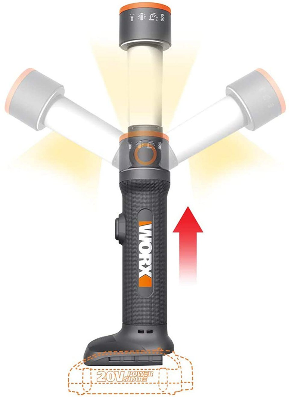 Worx Multi-function Light