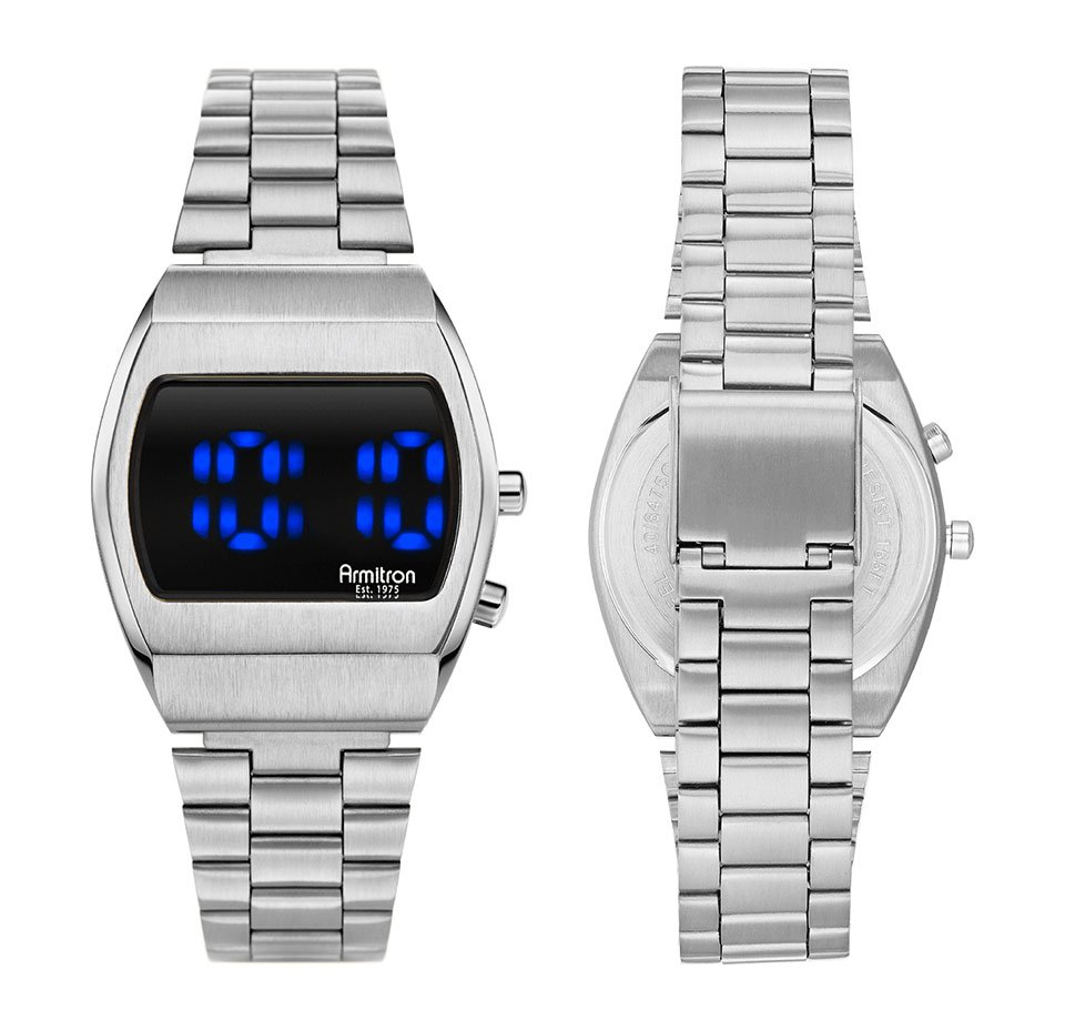 Armitron Griffy Blue LED Watch