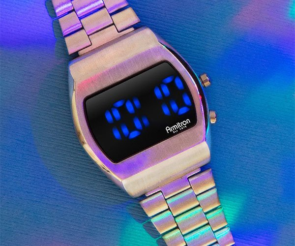 Armitron Griffy Blue LED Watch