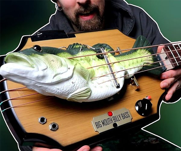 Big Mouth Billy Bass Guitar