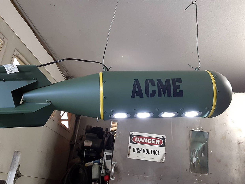 Bomb Ceiling Light