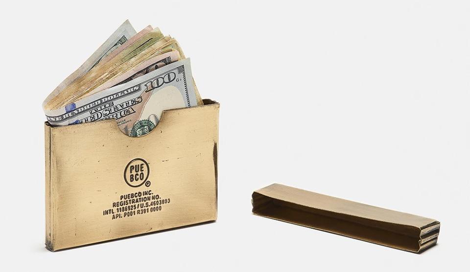 Puebco Brass Card Case