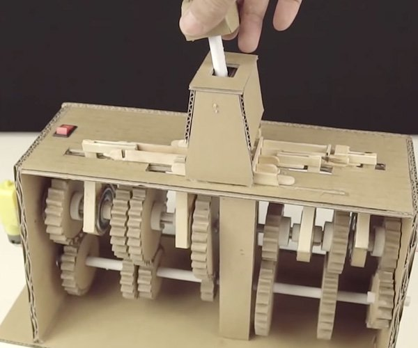 Making a Cardboard Transmission