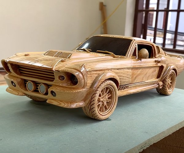 Carving a Shelby GT500