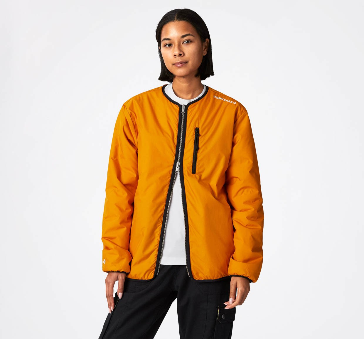 Converse Utility Fleece Reversible Sherpa Jacket