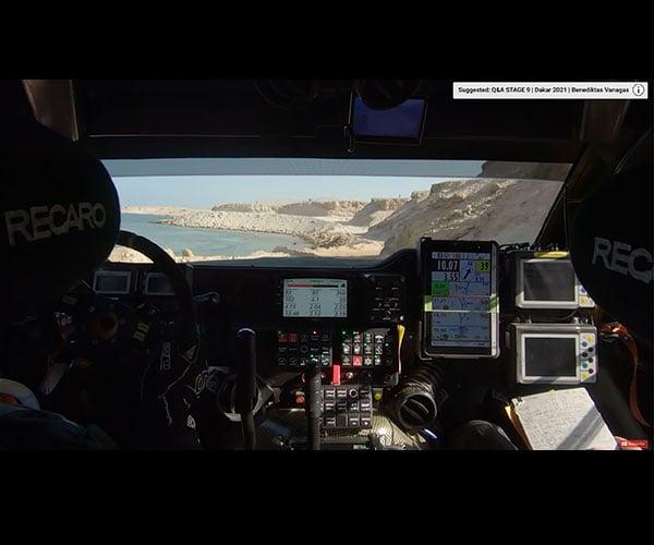 2021 Dakar Rally Onboard Footage