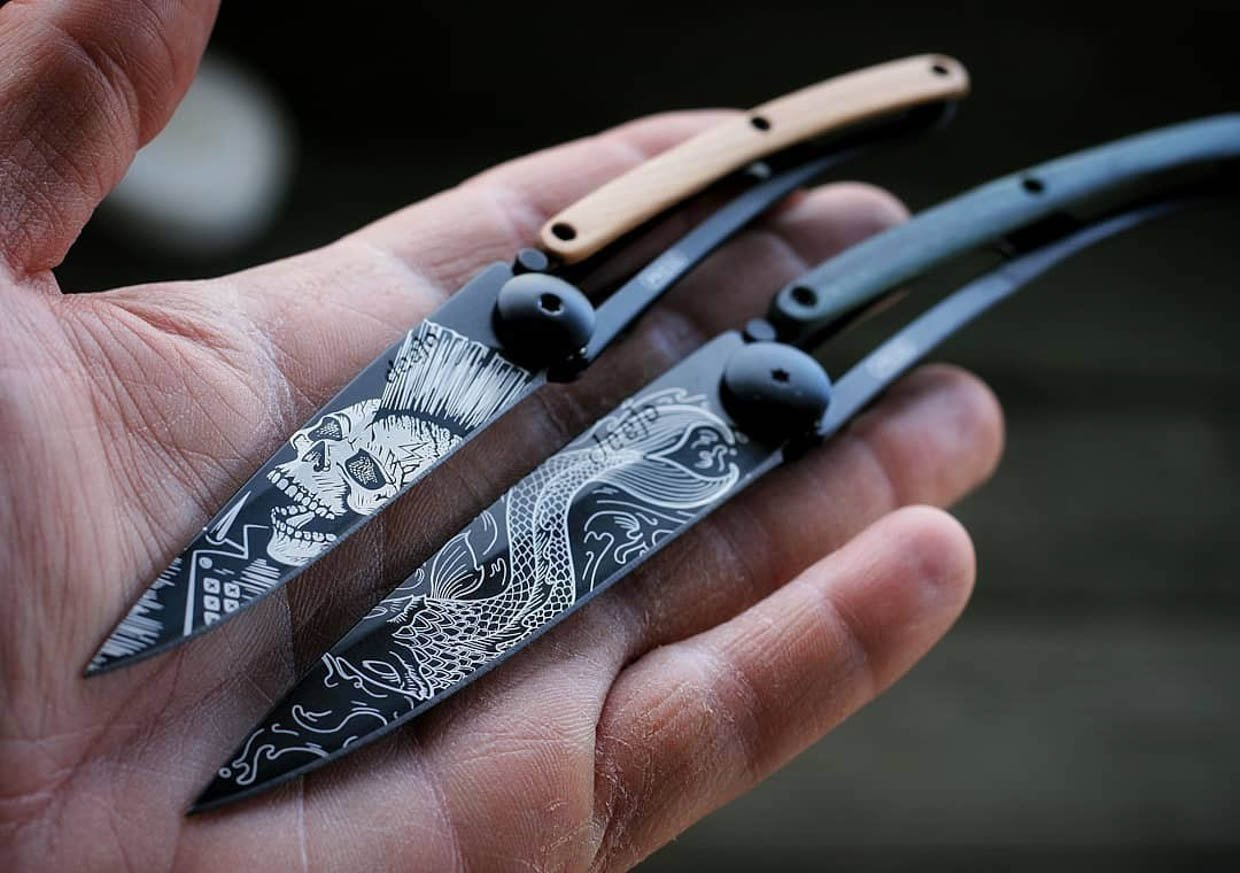 Deejo Tattoo Knives
