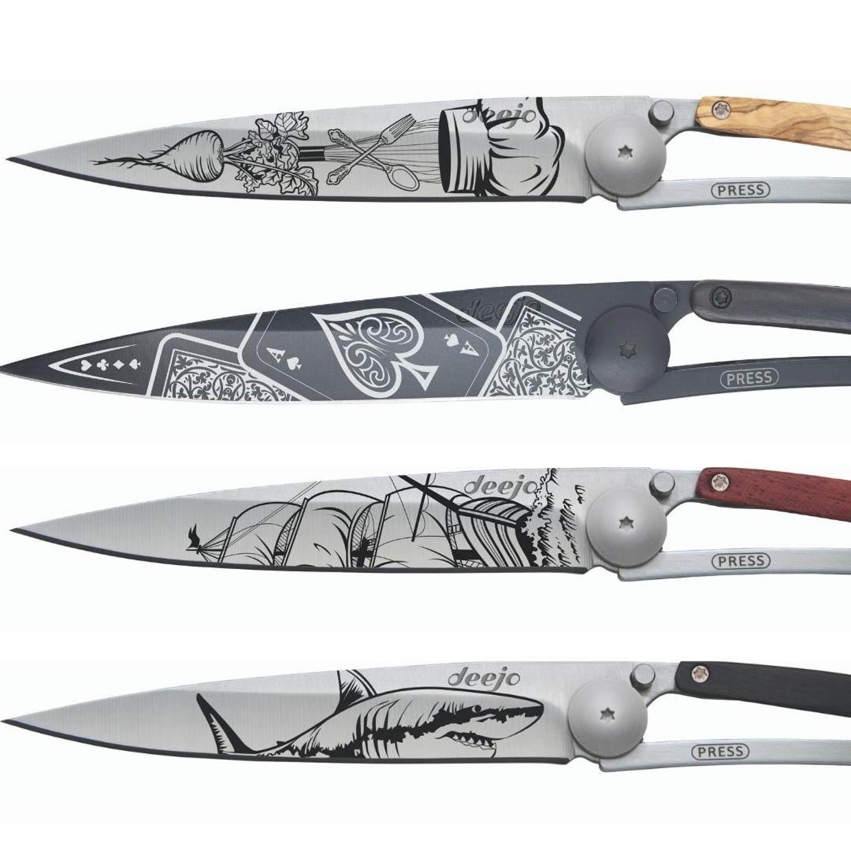 Deejo Tattoo Knives