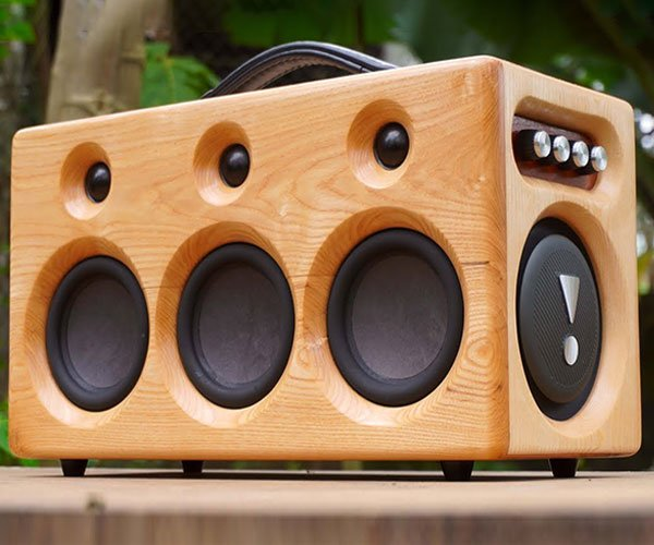 Pallet Wood Bluetooth Speaker