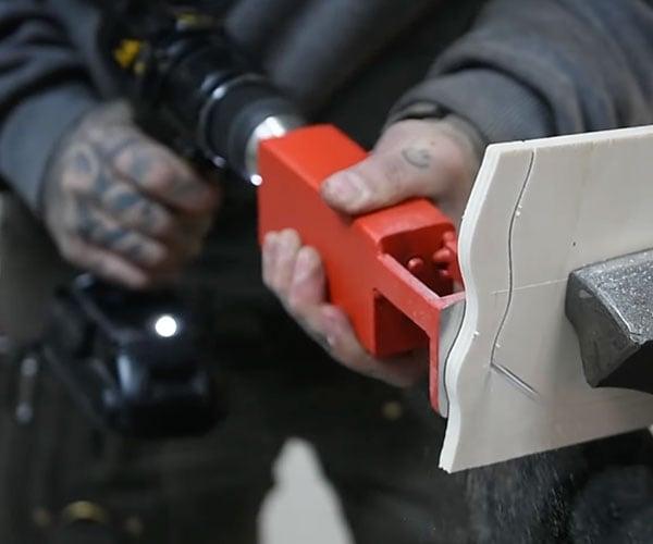 Making a Drill Into a Jigsaw