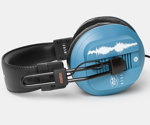 Fostex Dekoni Blue Headphones
