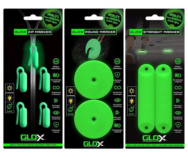 GLO-X Glowing Campers Essentials