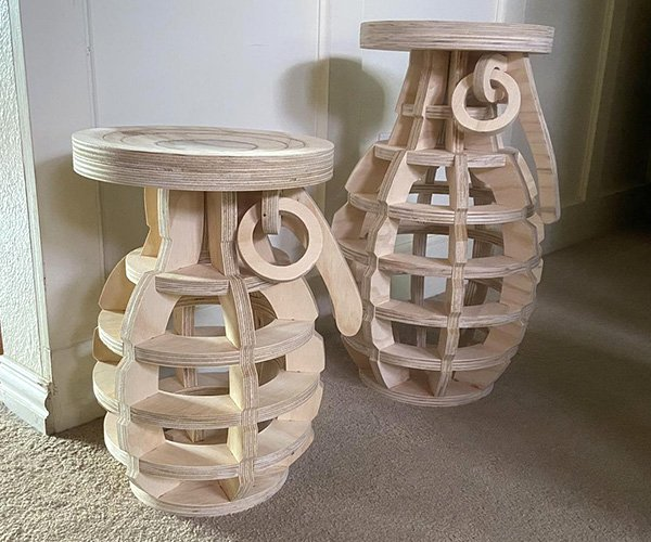Grenade Side Tables