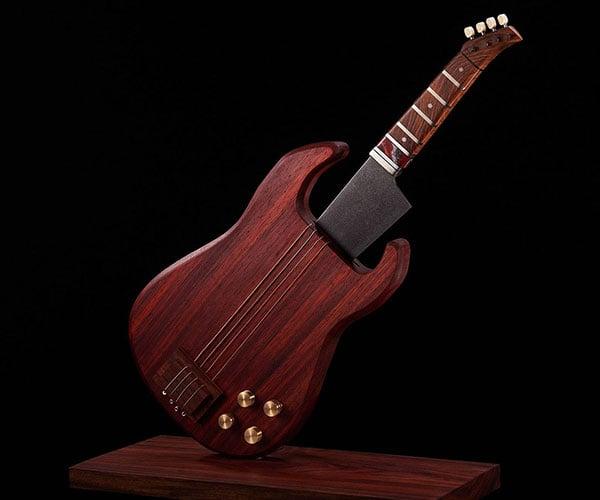 Gyotar Guitar Kitchen Knife