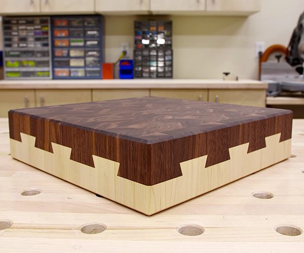 Impossible Dovetail Cutting Board