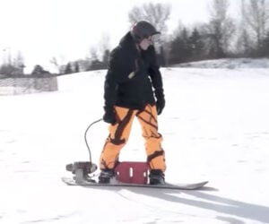 Jet-powered Snowboard 2.0