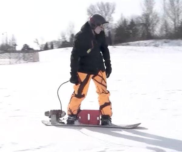 Jet-powered Snowboard 2.0