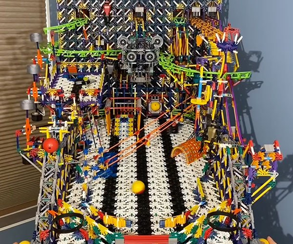 K'NEX Pinball Machine