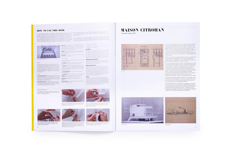 Le Corbusier Paper Models