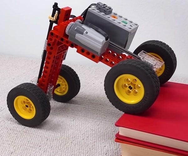 Engineering a Climbing LEGO Car
