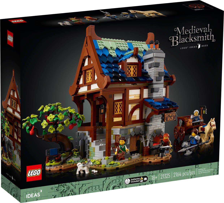 LEGO Ideas Medieval Blacksmith Shop