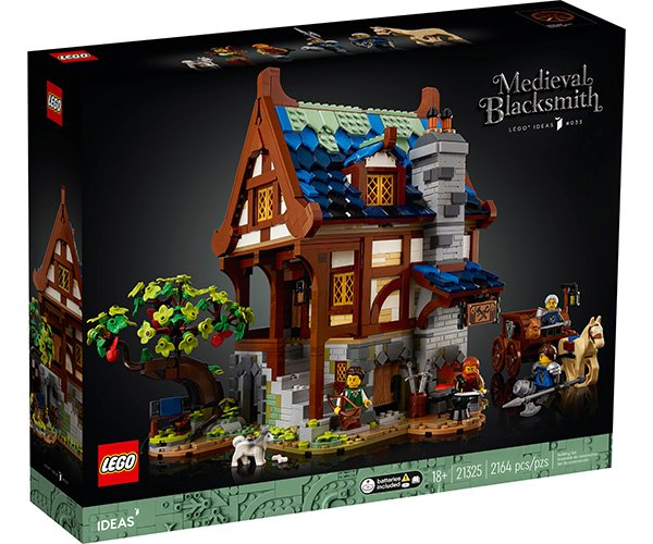 LEGO Ideas Medieval Blacksmith Shop