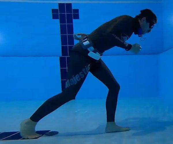 Longest Underwater Walk
