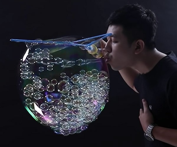 The Most Bubbles in a Bubble