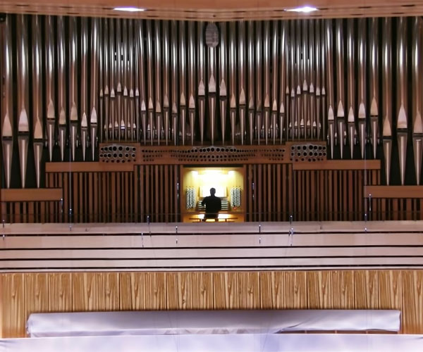 Epic Pipe Organ Performance