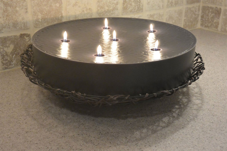 MysticGlo Jumbo Round Candle