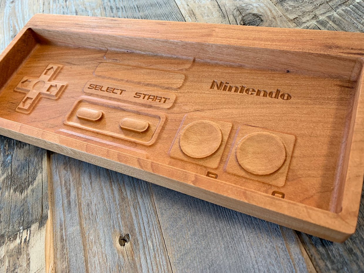 NES Controller Valet Tray