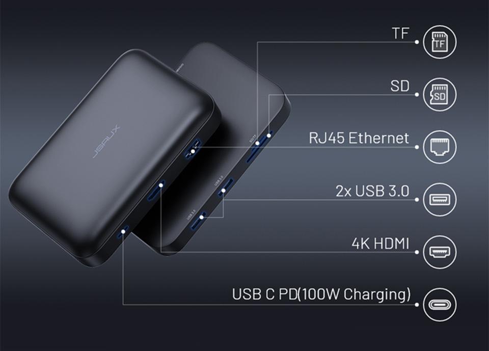 OmniCase Pro USB-C Docking Station