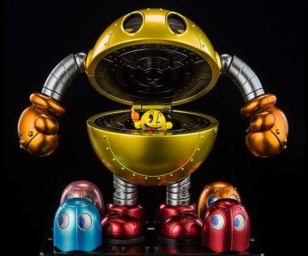 Pac-Man Chogokin Mech Figure