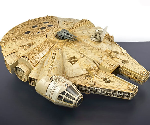 Restoring the Millennium Falcon
