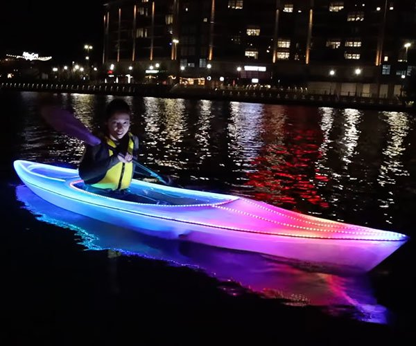 Making a Light-up Party Kayak