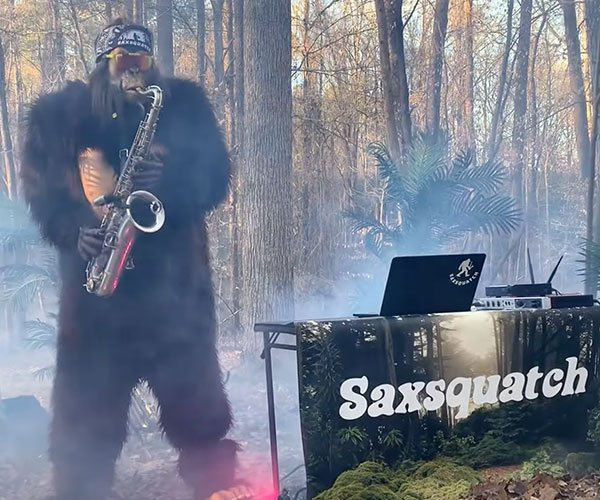 Saxsquatch Down Under