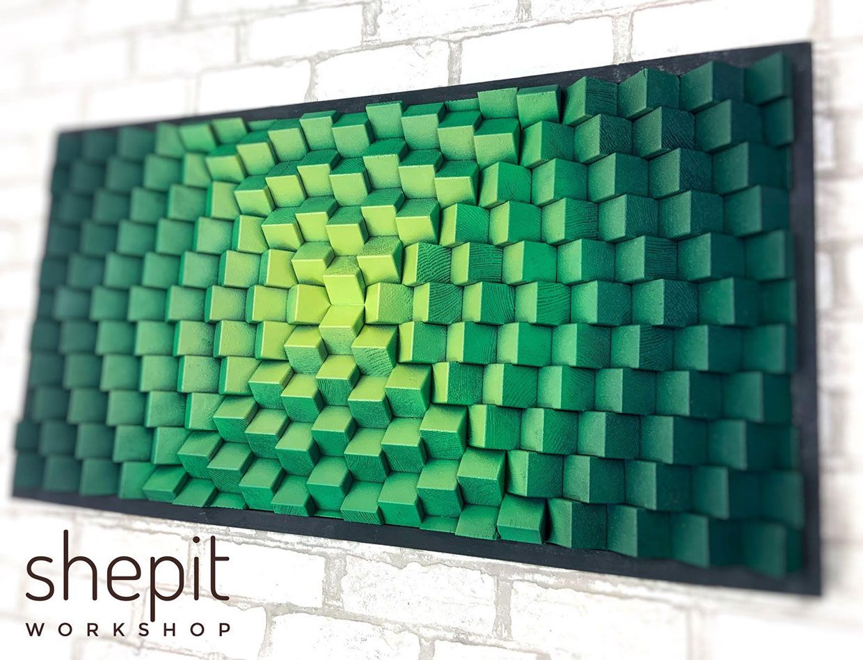 Shepit Wood Acoustic Panels