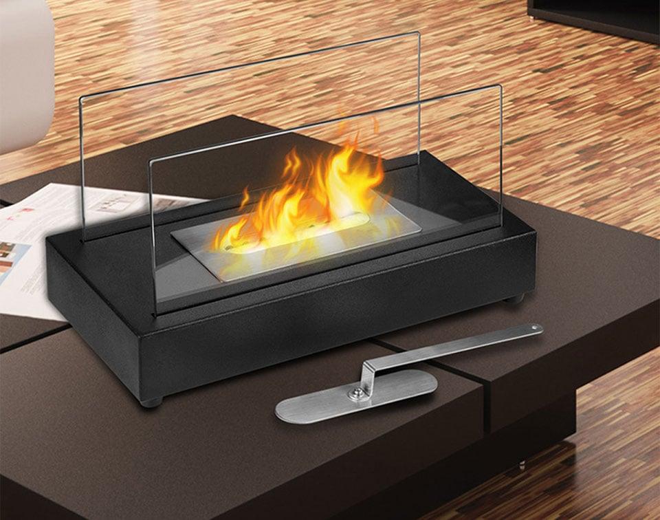 Smokeless Bio-Ethanol Tabletop Fireplace