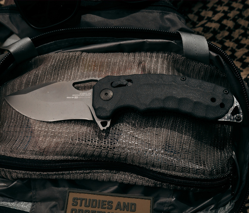 SOG Kiku XR LTE Knife