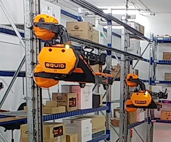 Squid Warehouse Robots
